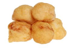 Isolated chicken balls Royalty Free Stock Photo
