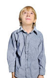 Isolated child boy Royalty Free Stock Images