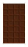 Isolated Chocolate Bar Stock Image