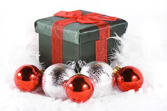 Isolated Christmas Background Royalty Free Stock Photography