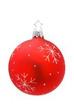 Isolated Christmas Bauble Stock Image
