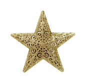 Isolated Christmas Star Royalty Free Stock Photo