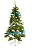 Isolated Christmas-tree decorations happy new year Stock Image