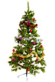 Isolated Christmas-tree decorations. 2016 happy new year Royalty Free Stock Photography
