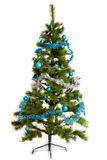 Isolated Christmas-tree decorations. 2016 happy new year Royalty Free Stock Image