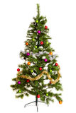 Isolated Christmas-tree decorations happy new year. Christmas-tree decorations merry christmas 2017 royalty free stock images