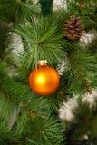 Isolated Christmas-tree decorations. 2016 happy new year Stock Photo