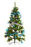 Isolated Christmas-tree decorations. 2016 happy new year Stock Image