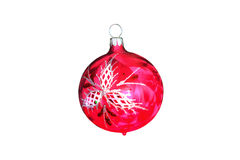 Isolated Christmas Tree Ornament Stock Photography
