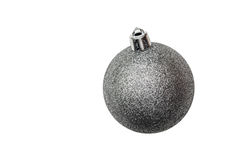 Isolated Christmas tree toy on a white background. For holidays design Royalty Free Stock Images