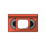 Isolated cinema vhs design Stock Images