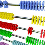 Isolated classic abacus Stock Photos