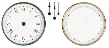 Isolated classic clock Royalty Free Stock Images