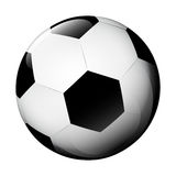 Isolated classic football ball on white vector Royalty Free Stock Photo