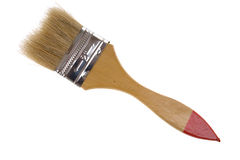 Isolated Clean paint brush Royalty Free Stock Photos