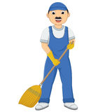Isolated Cleaner Vector Illustration. 