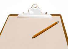 Isolated Clipboard Stock Image