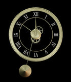 Isolated clock Stock Images