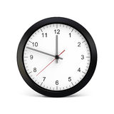 Isolated Clock Royalty Free Stock Photography