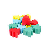 Isolated close up meeple board game stock photos