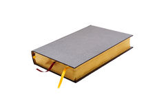 Isolated closed book Stock Image