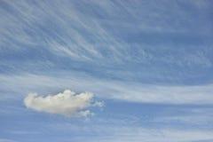 Isolated cloud on the sky Stock Photos