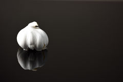 Isolated clove of garlic Royalty Free Stock Photos