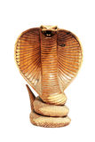 Isolated cobra from wood Stock Photo