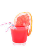 Isolated cocktail with grapefruit  juice Royalty Free Stock Image