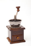 Isolated coffee bean grinder. And fresh roasted coffee bean Royalty Free Stock Photography