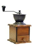 Isolated coffee grinder Stock Photos