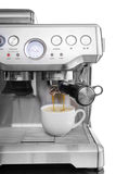 Isolated coffee maker with the cup Stock Photos
