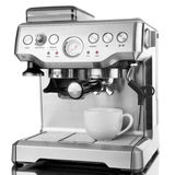 Isolated coffee maker Royalty Free Stock Images