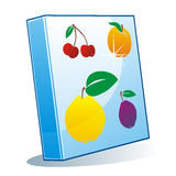 Isolated colored binder Royalty Free Stock Photo