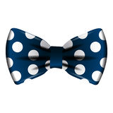 Isolated colored bowtie. Isolated bowtie on a white background, Vector illustration Stock Photos