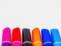Isolated coloring pen. On white background Royalty Free Stock Photo
