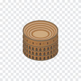 Isolated Colosseum Isometric. Coliseum Vector Element Can Be Used For Colosseum, Rome, Coliseum Design Concept. Royalty Free Stock Photography