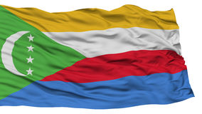 Isolated Comoros Flag Royalty Free Stock Photography
