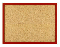 Isolated cork board Royalty Free Stock Photography
