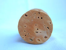 Isolated cork. An isolated cork with white background Stock Images