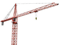 Isolated Crane Stock Photography