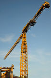 Isolated crane Stock Images