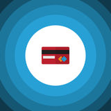 Isolated Credit Card Flat Icon. Payment Vector Element Can Be Used For Mastercard, Credit, Card Design Concept. Royalty Free Stock Photography