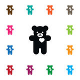 Isolated Cuddly Icon. Bear Vector Element Can Be Used For Plush, Cuddly, Stuffed Design Concept. Bear Vector Element Can Be Used For Plush, Cuddly, Stuffed Royalty Free Stock Image