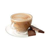 Isolated cup of coffee Royalty Free Stock Photo