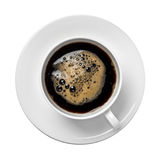 Isolated cup of coffee Royalty Free Stock Image