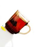 Isolated cup of tea Stock Image