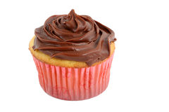 Isolated cupcake Royalty Free Stock Photos