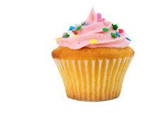 Isolated Cupcake stock image