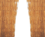 Isolated curtain Royalty Free Stock Images